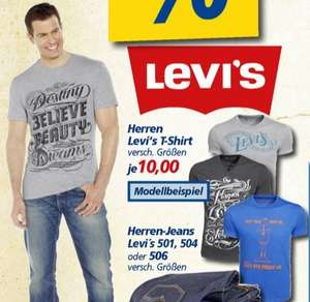 LEVI'S (LEVIS) T-Shirts 9,99€ (offline, deutschlandweit?)