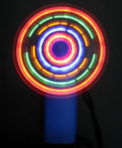 @Ebay, Partyspass: Mini-Ventilator mit LED-Beleuchtung für 1,34 €  s. Youtube Video