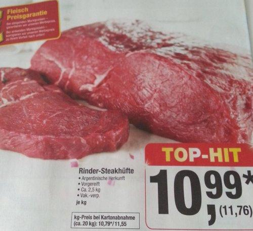 Argentinische Rinder-Steakhüfte / METRO