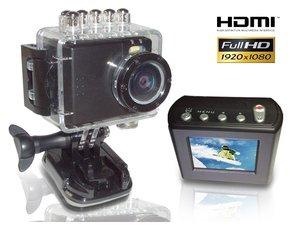 HD PRO 1 Action Cam Full HD (HDMI, USB, AV-Out) inkl. Montagezubehör - für 111,50€ VK-frei @MP