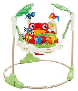 Fisher-Price Rainforest Jumperoo @ Amazon.co.uk [Idealo 138,00€]