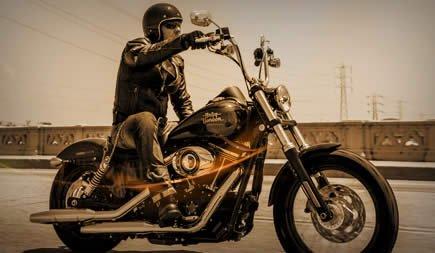 Kostenlos Harley Davidson fahren
