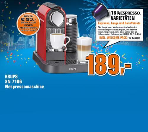 [Offline] Nespresso Citiz&Milk XN7106 Saturn Stuttgart