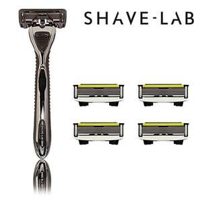 Shave-Lab Zero Black Edition(1 Rasierer mit 4 Klingen) für 7€ @Ebay