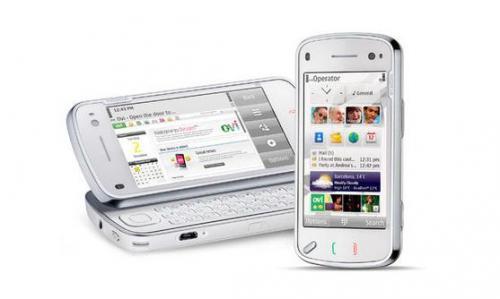 Nokia N97 (weiß) Navigationsedition inkl. Auto-Kit bei meinpaket.de