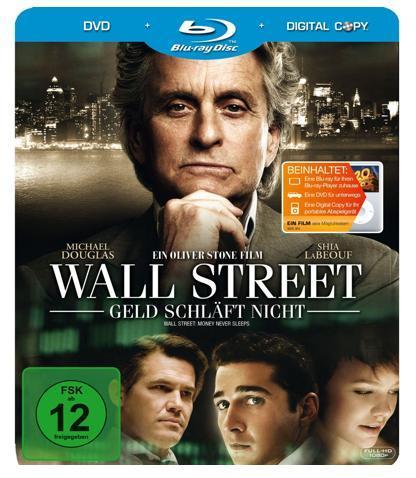 Wall Street – Geld schläft nicht (Steelbook) im Blitzangebot