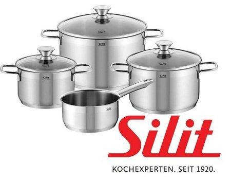 Silit Kochtopfset PISA, 7-teilig für 69,90 Euro