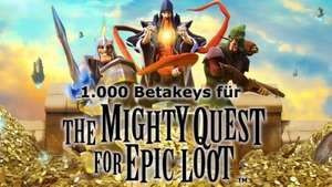 The Mighty Quest for Epic Loot - Beta Codes