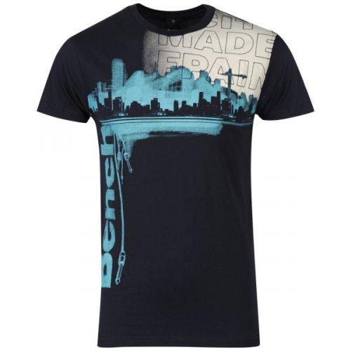 Bench Men's Paint T-Shirt - Navy für 10€ @Zavvi