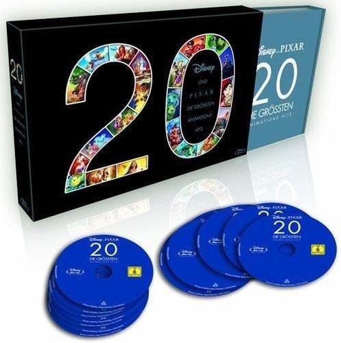20er - Disney und Pixar - Die grössten Animations Hits - Blu-ray Box - 113,90 Euro