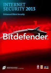 Bitdefender Internet Security 2013 für 1 Jahr Gratis