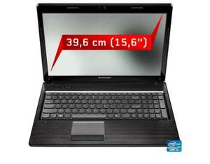 "Lenovo™ - 15.6"" Notebook ""IdeaPad Z570"" (i3-2330M 2x 2.20GHz,4GB RAM,750GB HDD,1GB GeForce GT520M,USB3.0,eSATA,Windows 7) [B-Ware] ab €280,46 [@MeinPaket.de]"