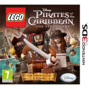 Nintendo 3DS - Lego Pirates of the Caribbean für €11,57 [@TheHut.com]