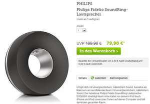 Philips Fidelio DS3800W SoundRing AirPlay Speaker für iPad/iPhone - QIPU 8% (EUR 78,02)