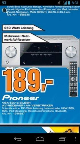Offline Saturn Celle: Pioneer VSX527 für 189€