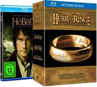[Amazon] - Der Hobbit [BluRay 9,97] und Der Herr der Ringe Trilogie Extended Edition [BluRay 49,97]  wieder preisgesenkt