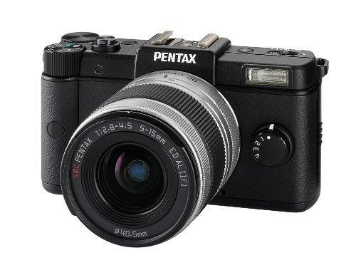 Pentax Q Systemkamera (12 Megapixel, 7,5 cm (3 Zoll) Display, Full HD Video, bildstabilisiert) schwarz + 5-15-mm-Objektiv für ca. 178 € [Amazon.uk]