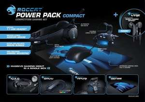 ROCCAT Power Pack Compact - Competition Gaming Set / 5-teilig 93,95 portofrei statt 150 €