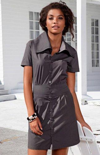 Buffalo Stretch Minikleid Cargokleid Freizeit Kleid Sommerkleid 32 - 38 M-L kostenloser Versand UVP: 57,99€