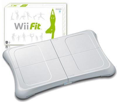 Wii Fit inkl. Balance Board (original Nintendo) für 45€