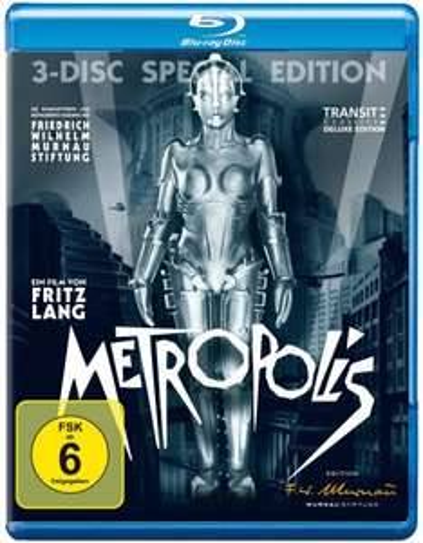 Metropolis (3 Discs, Special Edition) [Blu-ray] für 16,97 € [Amazon.de]