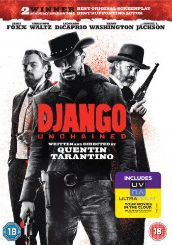 Django Unchained DVD (inkl. UV Copy) für 11,56 + gratis NEW BALANCE Shirt dazu @ zavvi.com