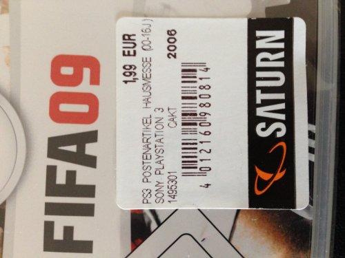[Lokal Saturn Berlin Alexanderplatz] Div. PS3-Titel ab 4,99€; FIFA 09 für PS3 nur 1,99€!