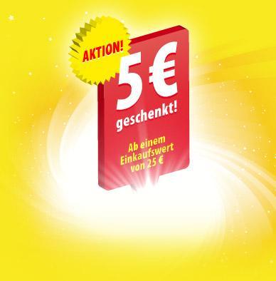 5€ für Penny Markt geschenkt (Lebensmittel etc.) MEW 25 nur offline einlösbar