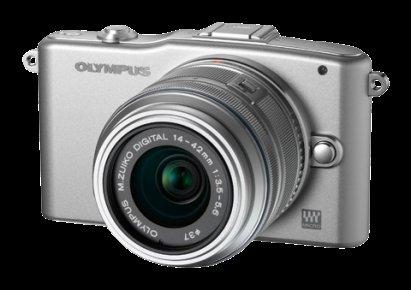 Olympus e-PM 1 inkl. 14-42mm