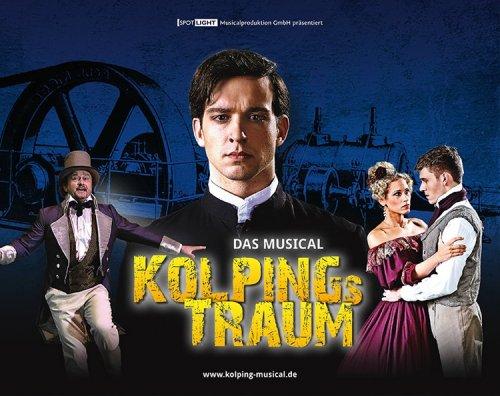 """2 Premierentickets (Wert: 117,60€) für Musical """"Kolpings Traum"""" in Wuppertal (von Radio MK)"""