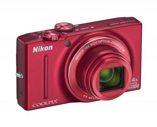 Nikon COOLPIX S8200 rot für 155€ @Amazon.uk