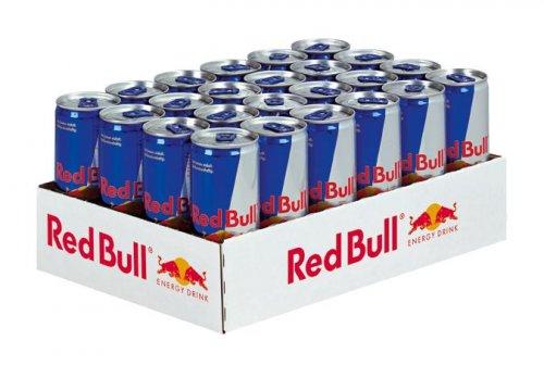 Red Bull 24x0,25l für 18,59 incl. Versand! (77 Cent je Dose)