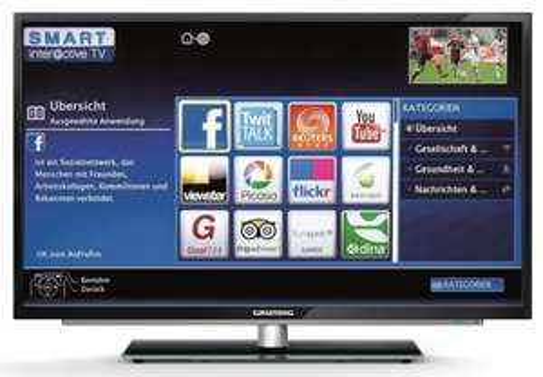 Grundig 50 VLE92BL (Full HD, 200Hz PPR, DVB-T/C/S, CI+, SmartTV) für 555€ @Amazon