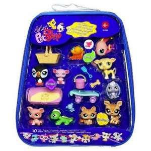 Littlest Pet Shop Set 10 Figuren @Brandlet