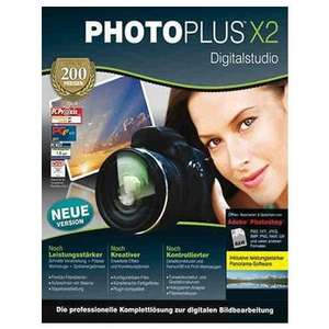 Avanquest PhotoPlus X2 Digitalstudio Software Bildbearbeitung (Minibox - Win - Deutsch) für 1,99 EUR inkl. Versand @ redcoon.de