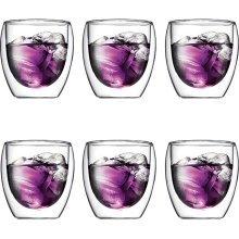 Bodum Pavina Set mit 6 doppelwandigen Gläsern a 250 ml für 31,90 EUR @Redcoon