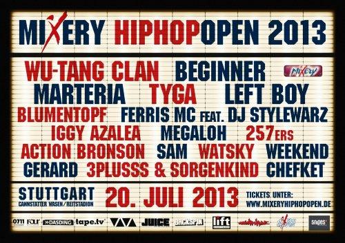 [Lokal] Snipes Stuttgart: HipHop Open Ticket gratis bei Sneaker-Kauf