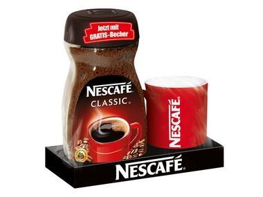 Nescafe Classic mit Gratis Becher @ Lidl nur 4,99€