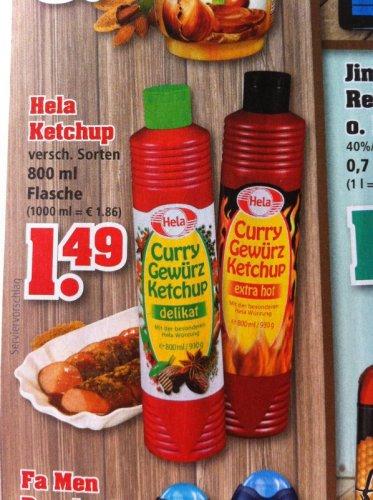 Hela Gewürz Ketchup 800ml für 1,49€ / Pringles (2x190g) für 2,22€ @TRINKGUT