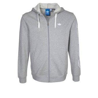 Adidas Originals Leichte Jacke (Hoodie) in Grau - Zalando.de