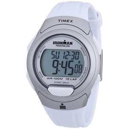 TIMEX IronMan 10 Lap (T5K609) Unisex Silber/Weiss