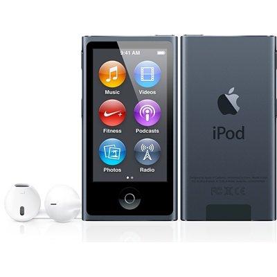 AppIe IPod nano 16GB schwarz / Generalüberholt von Apple