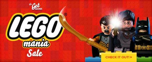 Get Games - Lego Mania (Lego Batman 5€, ...)