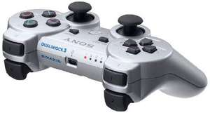 Sony PS3 Dualshock Wireless Controller (inkl. Rumble Funktion) Silber