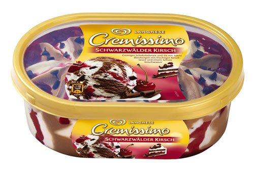 Bundesweit Real: Langnese Cremissimo Eis ab Mo für 1,99 € beim Kauf von 2 gibts Himbeeren dazu