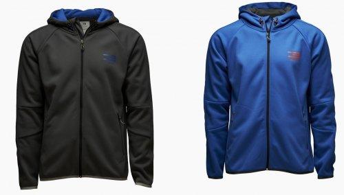 "Jack & Jones™ - Herren Softshelljacke ""Technic Sweat"" (Blau,Grau) ab €24,91 [@Galeria-Kaufhof.de]"