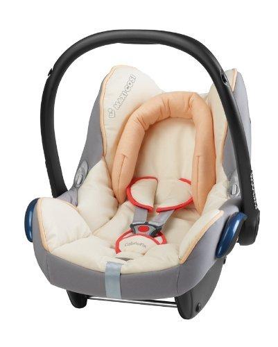 Maxi-Cosi 61705281 Cabriofix Kinderautositz Gruppe 0+ (bis 13 kg), ab der Geburt bis ca. 12 Monate, natural bright