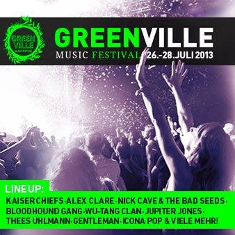 GREENVILLE-Tickets mit GRATIS-89-Euro-Gutschein