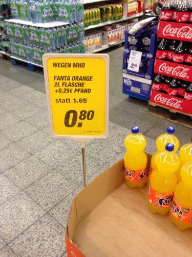 [Lokal] Toom-Markt Echterdingen Fanta Orange 2l für 0,80€