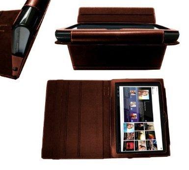 """Sony S Tablet 9,4"""" Navitech Ledertasche, auch für andere Modelle (Samsung Galaxy etc.)"""